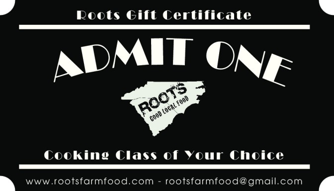 roots cooking classes charlotte